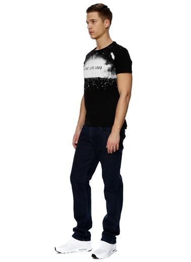 T-Box Baskılı Tişört Siyah